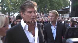 Hayley Roberts, David Hasselhoff at Keith Lemon The Film:...