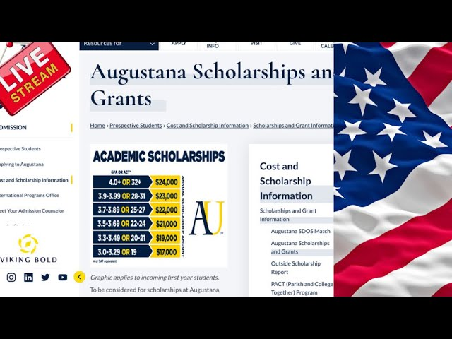 Augustana University is sponsoring an excellent opportunity through its Global Leaders Scholarships
