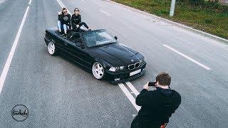BMW E36 Convertible - Saint-Petersburg Shortcut. 4K.
