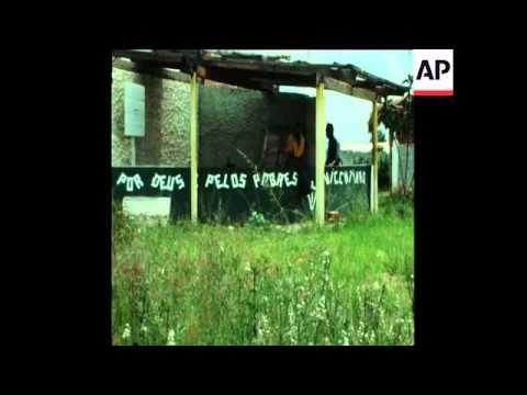 SYND 24 1 76 UNITA MEMBERS CONTROL TOWN OF SILVA PORTO (KUITO) IN ANGOLA