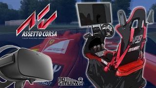 Assetto Corsa VR no Motion Sim - Testes e Impressões