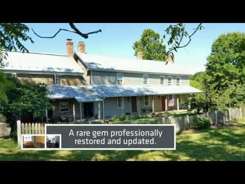 Historic Property for Sale: Home, Vineyard, Intimate Restaurant or B&B