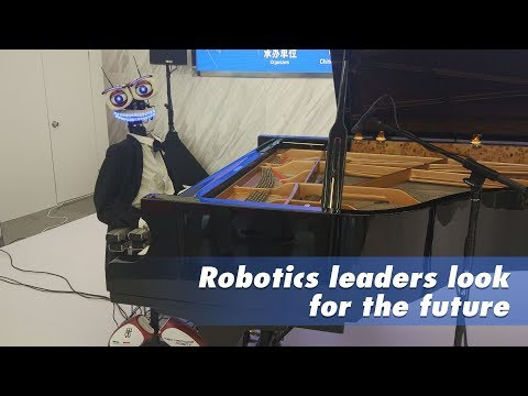 Live: Robotics leaders look for the future世界机器人大会