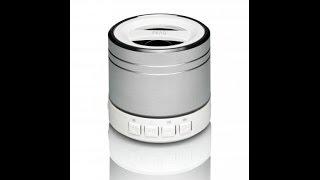 PEAQ Portable Bluetooth Speaker Model : PPA20BT-SL -Test Review- 2014