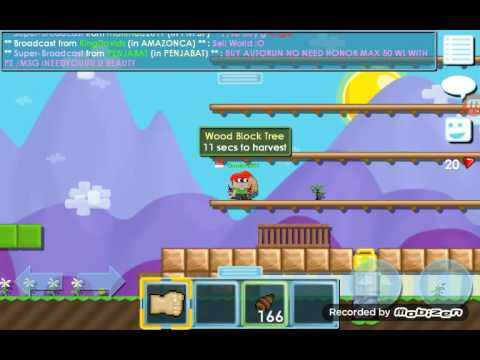 Cara Bikin Wooden Platform Growtopia Youtube