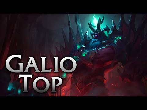 Reworked Gatekeeper Galio Top - League of Legends Commentary