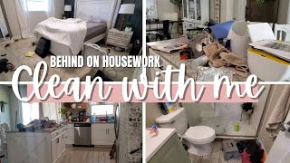I got behind on housework AGAIN so let's tackle this mess together    Ultimate cleaning motivation !