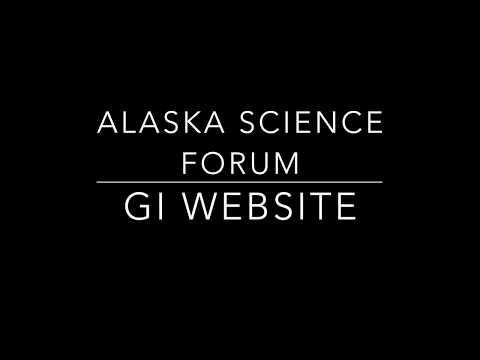 Alaska science forum