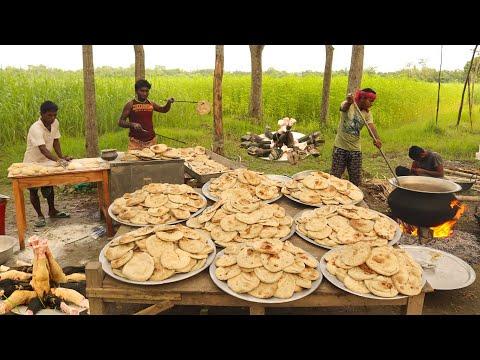 32-beef-paya/nihari-with-1,000-tandoori-roti-recipe---cow-leg-gravy-curry-&-roti-for-400-villagers