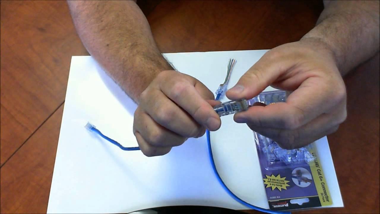 Cat6 Wiring Diagram 2006 Porsche Cayenne Radio Platinum Tools 100010c Ez-rj45 Cat 6 Modular Connectors | Plugs - Youtube