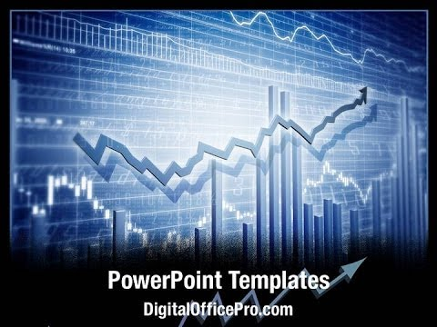 Stock market graph powerpoint template backgrounds for Stock market ppt templates free download