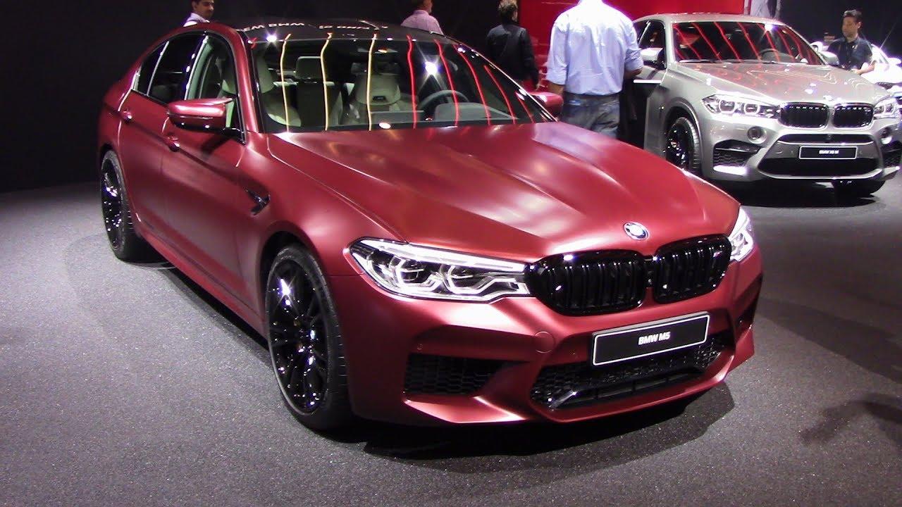 2018 BMW M5 Frozen Dark Red Metallic