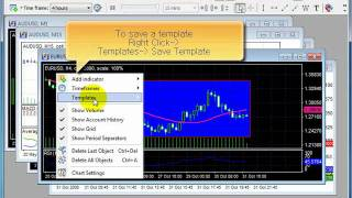 Forex Tester 2 - How to use templates