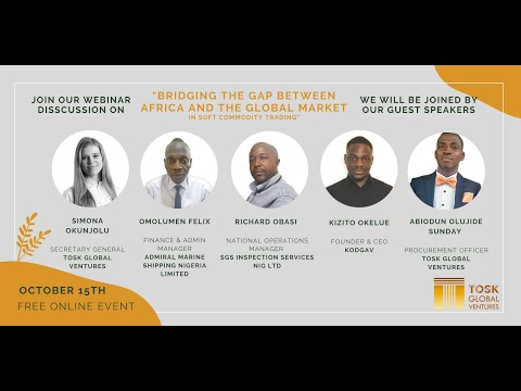 Webinar - Bridging the Gap Between Africa and Global Market in Soft Commodity Trading
