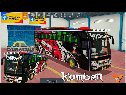 Komban Bombay Edition Skin For Bussid Livery Released Download