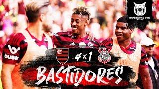 Flamengo 4 x 1 Corinthians - Bastidores