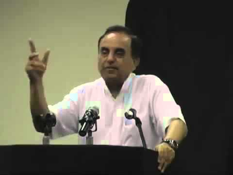 Dr Subramanian Swamy When to make alliance with the enemy Superb Example