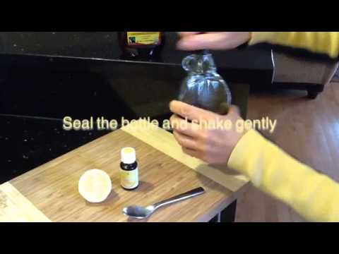 diy-cough-syrup-with-lemon-essential-oil