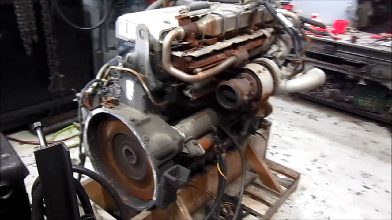 2007 Mercedes OM460 EGR Engine