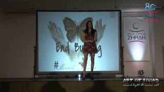 Anti-bullying event με την Meredith O
