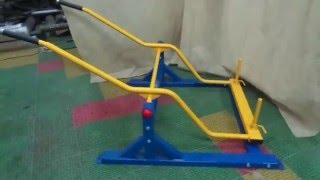 Силовой тренажер для инвалидов-колясочников Жим вниз. Арт 4746(Тренажер Жим вниз. Предназначен для инвалидов - колясочников., 2016-01-28T12:45:08.000Z)
