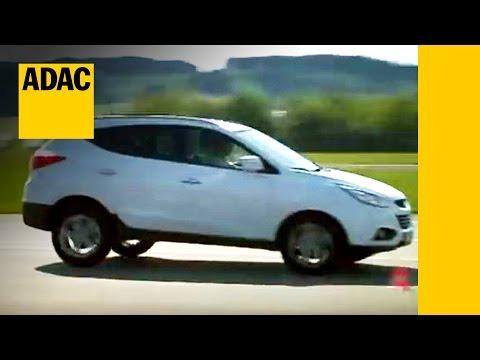 Hyundai iX 35 2.0 CRDi im Test Autotest 2010 ADAC