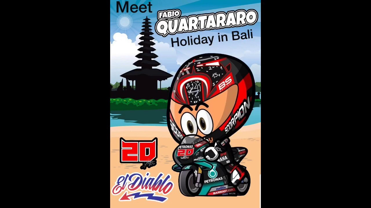 Download Fabio Quartararo Holiday in Bali and Meet Fans