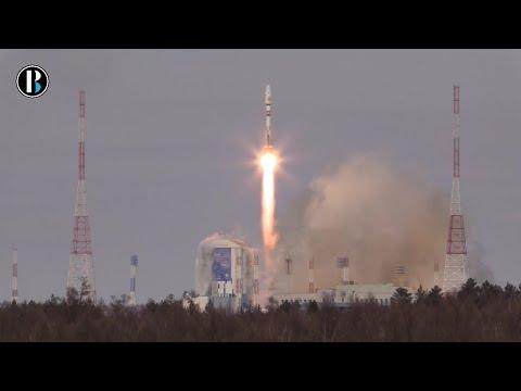 Satélite lanzado desde nuevo cosmódromo ruso no llegó a su órbita