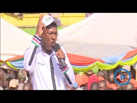 Moses Wetangula speech at the NASA rally in Nairobi