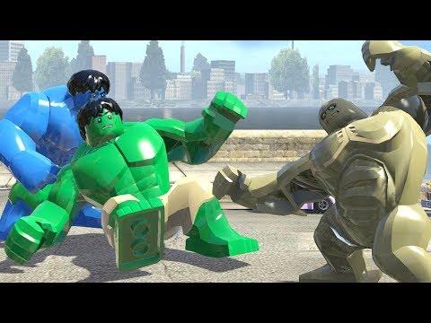 Hulk Transformation Vs Abomination Vs Hulk (Blue) LEGO Marvel Super Heroes