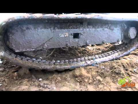 How To Put A Track Back On A Mini Excavator