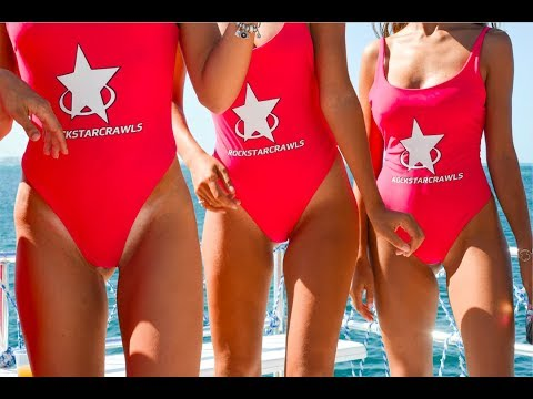 Rockstar Boat Party Cancun by Rockstarcrawls Cancun (Cuncrawl) Best Booze Cruise in Cancun