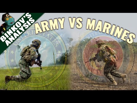 US Marines vs US Army platoon: Who'd win that fight?