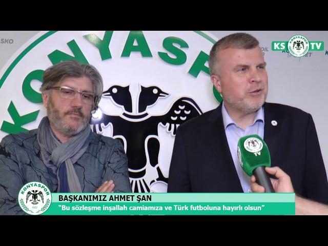 Mustafa Reşit Akçay, Atiker Konyaspor'umuzda!