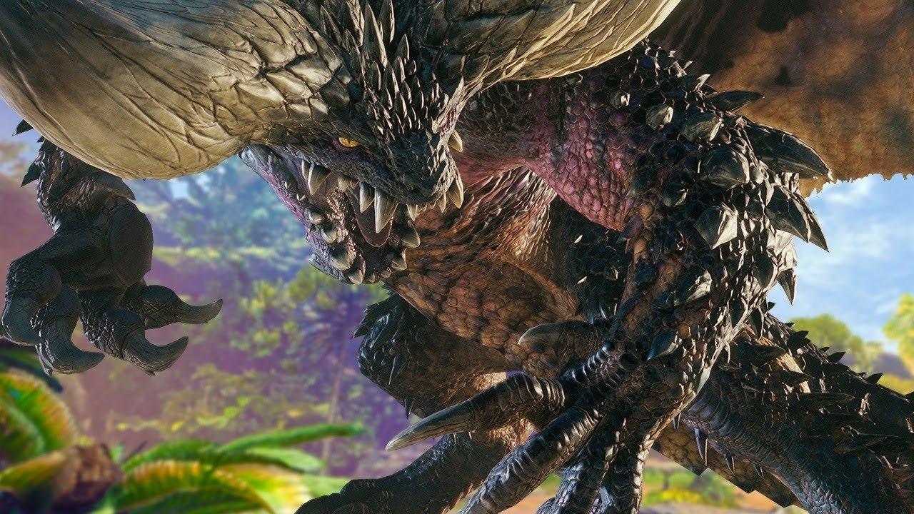 10 minutes of fighting monster hunter world 39 s nergigante for Decoration list monster hunter world