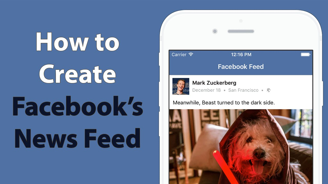 Swift: Facebook News Feed - Dynamic Cell Content