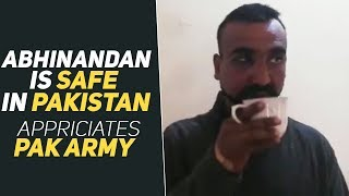 EXCLUSIVE VIDEO : IAF Wing Commander Abhinandan Varthaman Is Safe In Pakistan Custody