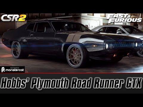 CSR Racing 2: Hobbs' Plymouth Road Runner GTX | Fast & Furious (Hobbs' Hunt)