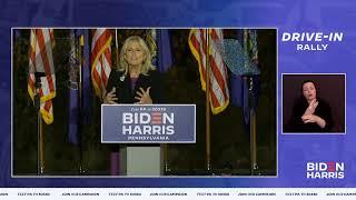 Join Dr. Biden for a Drive-In Rally in Scranton, PA LIVE | Joe Biden For President 2020