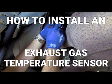 How to Install an Exhaust Gas Temperature Sensor | Know Your Parts