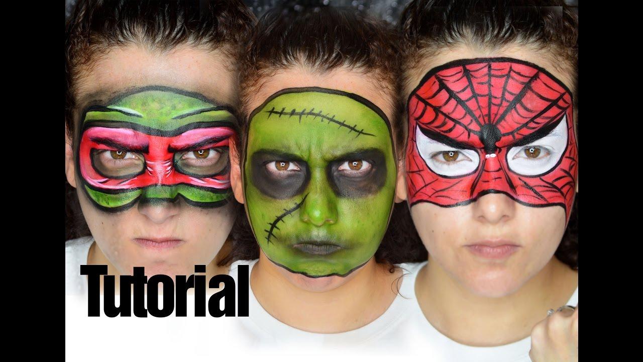 Halloween Maquillaje de Fantasa Fcil Sencillo para Nios Susana