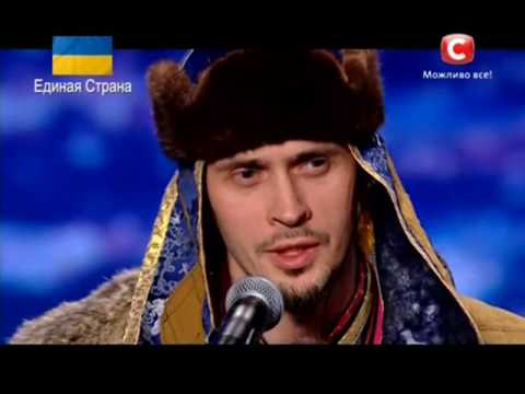 Turgen Kam - Song of the Grandfather (Altai shamanic DJ.) - Ukraine Got Talent