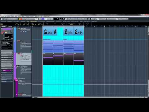 Cubase Chord Track - Using The Chord Track In Cubase - How To Tutorial