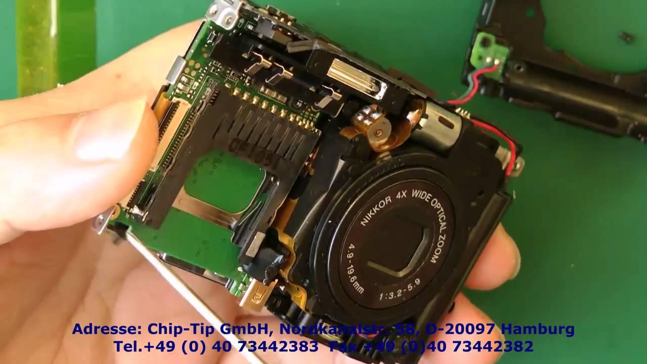 1n52 nikon coolpix s3000 display reparartur repair guides kamera rh youtube com Nikon Coolpix S4300 Charger Nikon Coolpix AW110