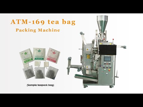 #Autompack ATM-169 Inner and outer Tea Bag Packaging Machine By Autompack Packaging