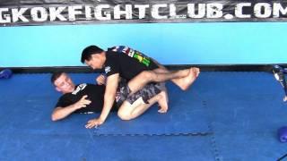 Кимура болевой приём на плечо из позиции гард. Бразильское Джитсу (БДД)(Болевой замок на плечо