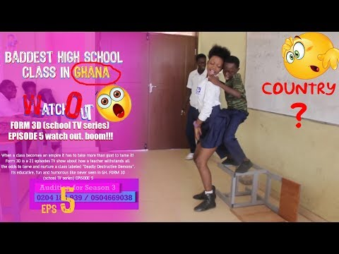 FORM 3D (high school TV series) EPISODE 6 watch out. boom!!!
