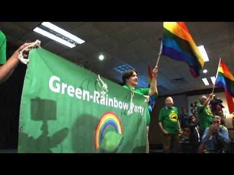 USA: les verts, un parti marginal face aux deux grands partis
