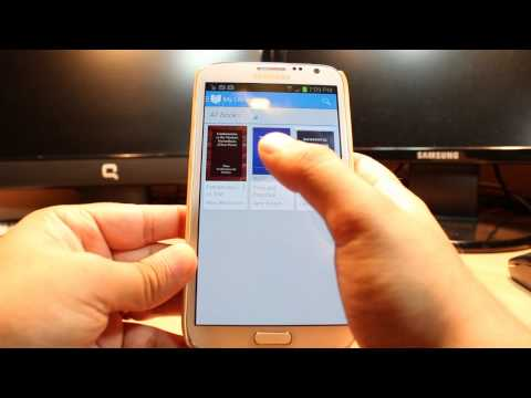 Google play books install to Samsung Galaxy note 2