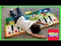 Gambar cover Piano Mat Toy Review - Giant Keyboard with Animal Sounds for Kids and Toddlers - Willy's Toys